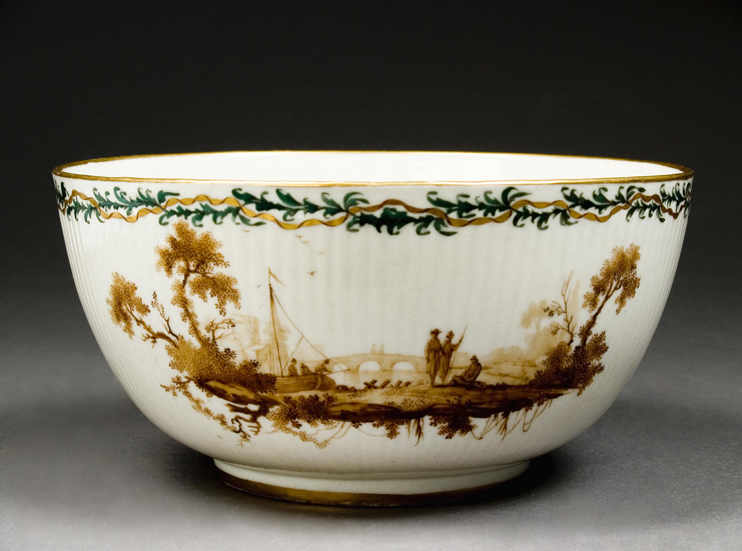 Duvivier-decorated Loosdrecht bowl