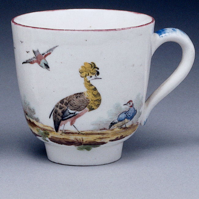 Fidelle Duvivier Sceaux porcelain cup